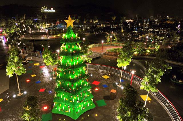 世界のちょっと変わったクリスマスツリー