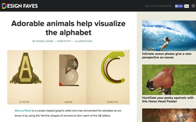 11_Adorable animals help visualize the alphabet   DesignFaves