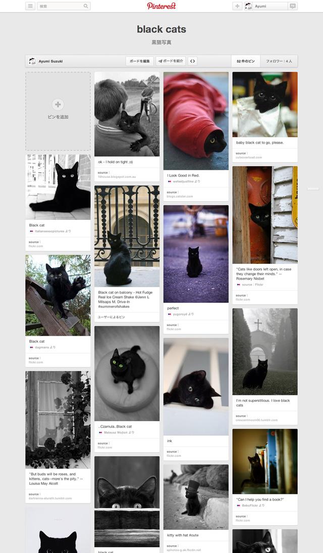 Pinterest-の-「black-cats」