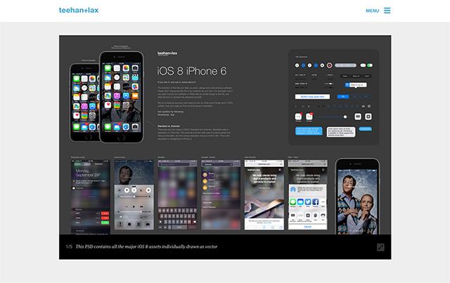 iPhone-GUI-PSD-Teehan-Lax