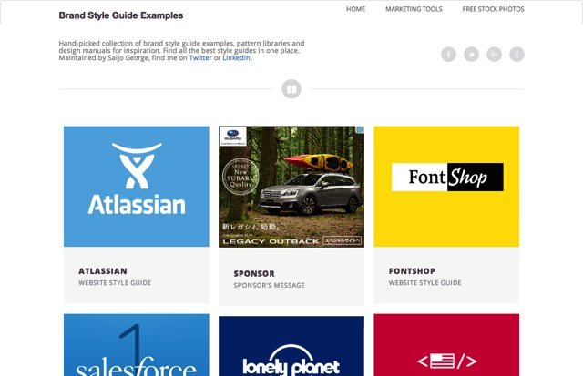 Brand Style Guide Examples  Hand picked by Saijo George