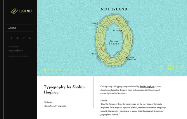 Typography by Shahin Haghjou   LLGD.NET