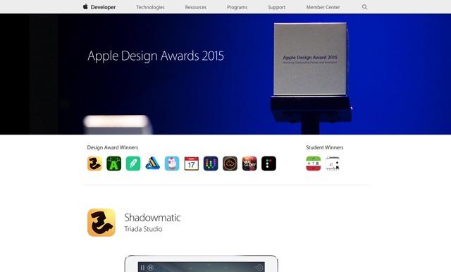 Apple Design Awards   Apple Developer