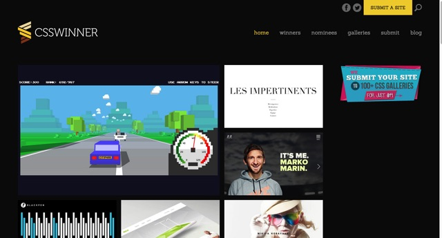 CSS Winner   Website Awards   CSS Award Gallery for Web Design Inspiration
