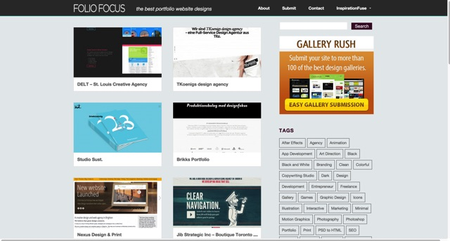 Folio Focus   the best portfolio website designs