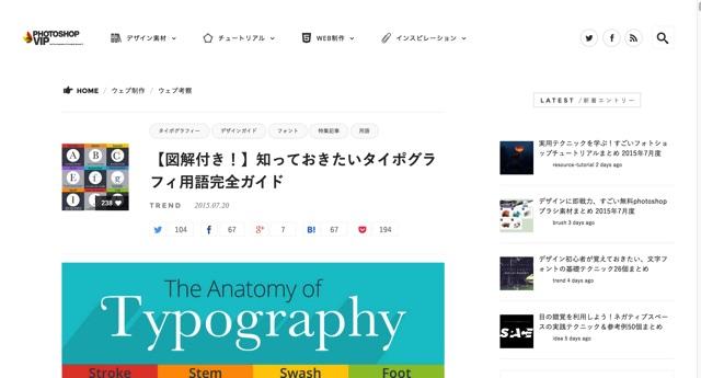 【図解付き!】知っておきたいタイポグラフィ用語完全ガイド   PhotoshopVIP