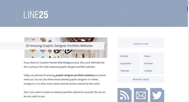30 Amazing Graphic Designer Portfolio Websites