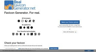 Favicon Generator for all platforms  iOS  Android  PC Mac...